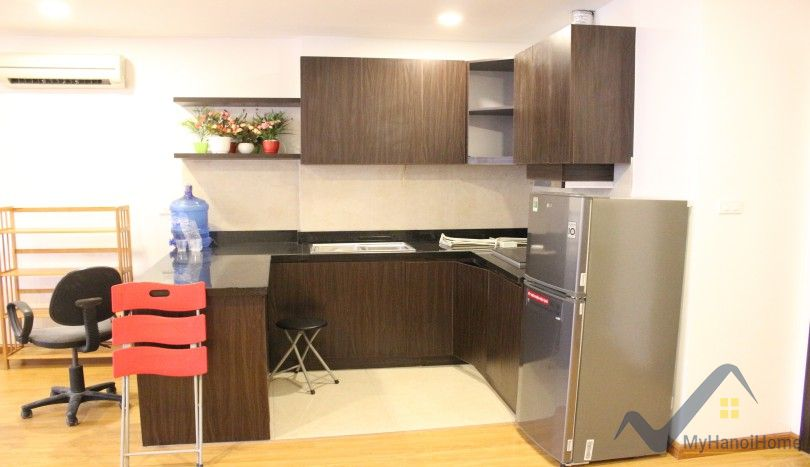 Furnished 1 bedroom apartment in Nghi Tam village Tay Ho