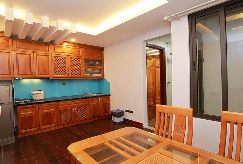 Furnished 1 bedroom apartment in Yen Phu Tay Ho to rent