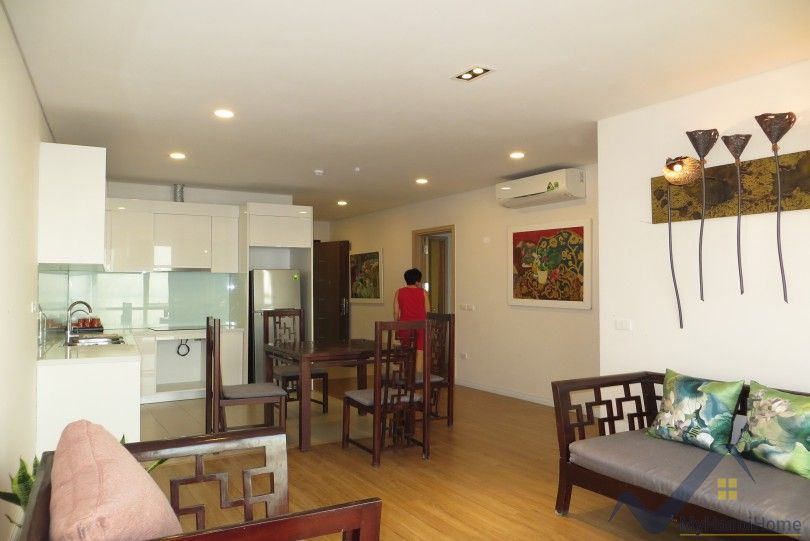 Furnished 2 bed 2 baths apartment in Mipec Long Bien