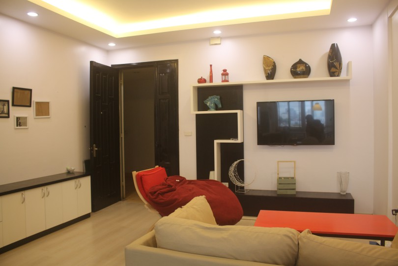 Furnished 2 bed apartment in Cau Giay dist, Hoang Quoc Viet str