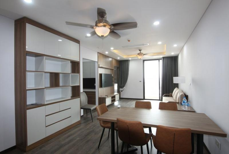 Furnished 2 bedroom apartment for rent PHC complex Long Bien