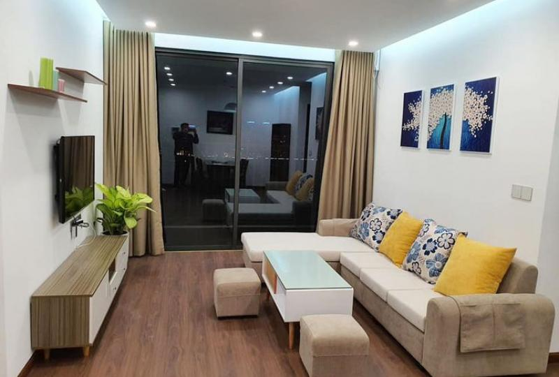 Furnished 2 bedroom apartment in 6 Element Tay Ho for lease
