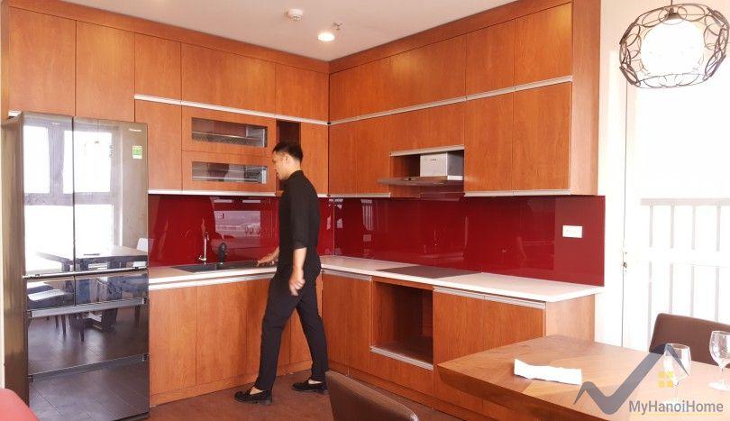 Furnished 2 bedroom apartment in Berriver Long Bien for rent