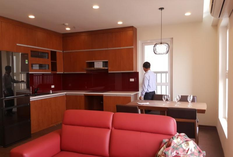 Furnished 2 bedroom apartment in Berriver Long Bien for rent