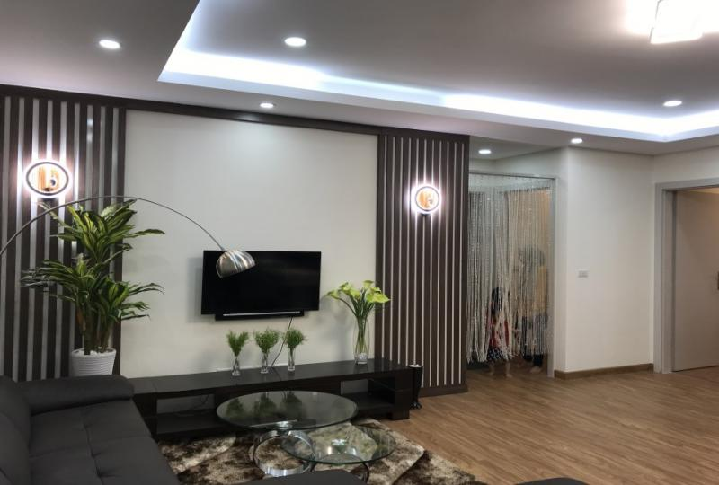 Furnished 2 bedroom apartment in Ngoai Giao Doan area Tay Ho