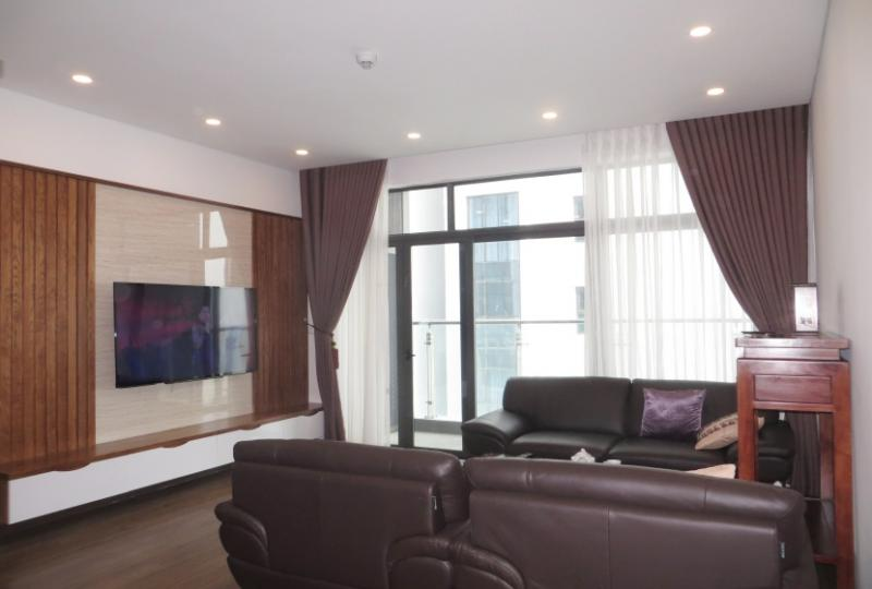 Furnished 2 bedroom apartment rent at Ancora Residence Luong Yen