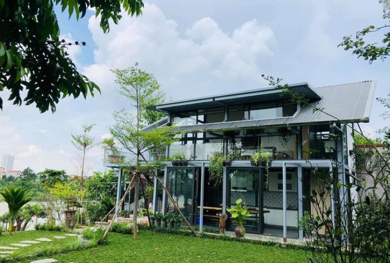 Furnished 2 bedroom house in Phuc Loi Long Bien, close Vinschool