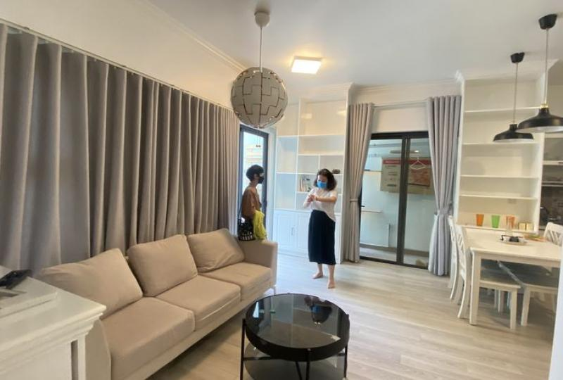 Furnished 2bed 1wc apartment in Ecopark Hanoi for rent