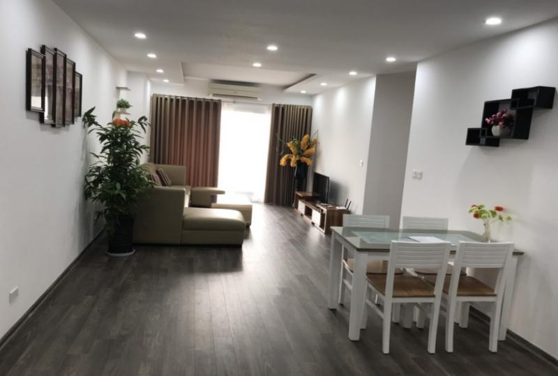 Furnished 3 bedroom apartment at Quang Minh in Ngoai Giao Doan