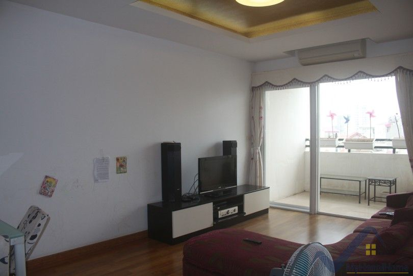 Furnished 3 bedroom apartment for rent in Thuy Khue str Tay Ho