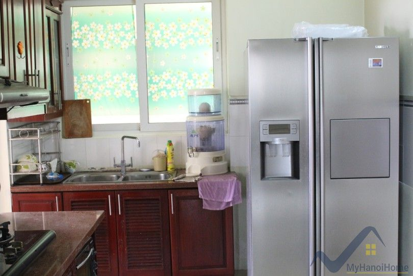 Furnished 3 bedroom apartment in Ciputra Hanoi at E5