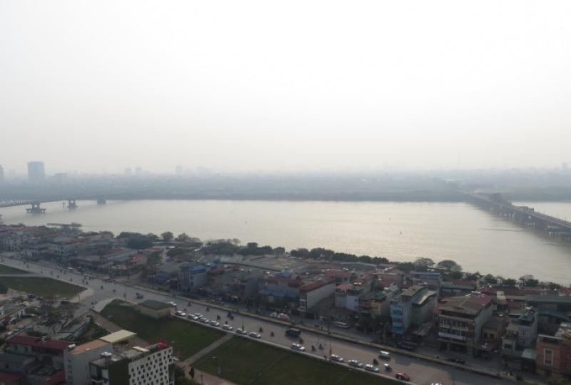 Furnished 3 bedroom apartment in Mipec Riverside  to rent, riverview