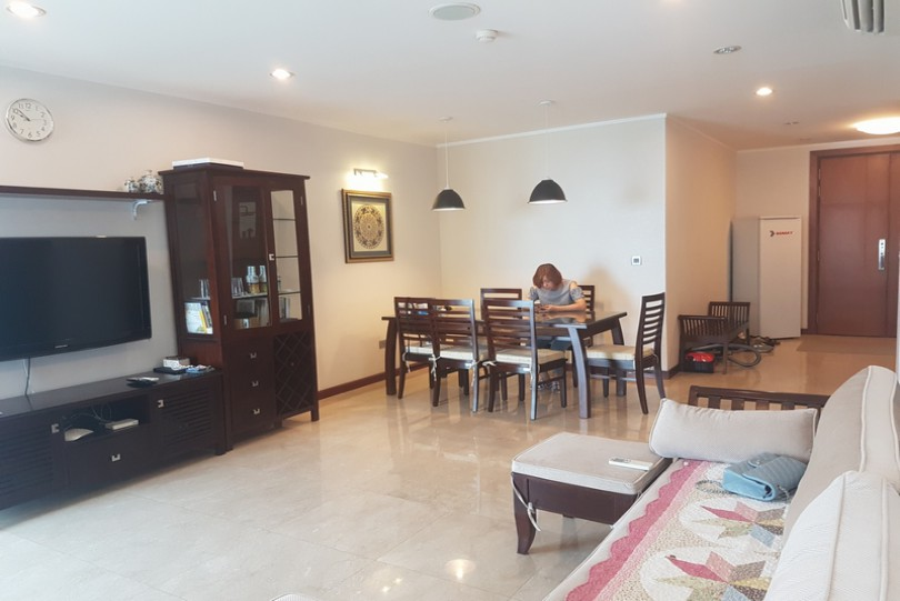 Furnished 3 bedroom Ciputra apartment Hanoi for lease L2 block