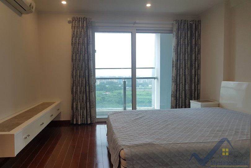 Furnished 3 bedroom Ciputra Hanoi apartment to lease at L Tower