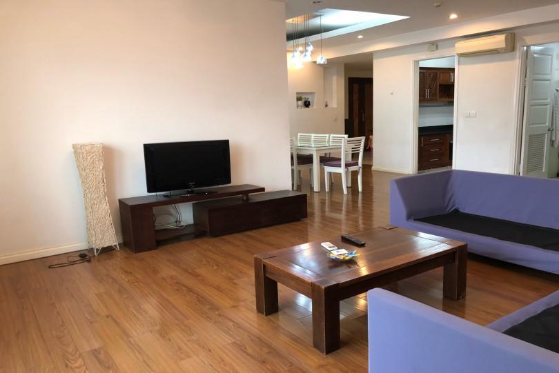 Furnished 4 bedroom Ciputra apartment rental at E building