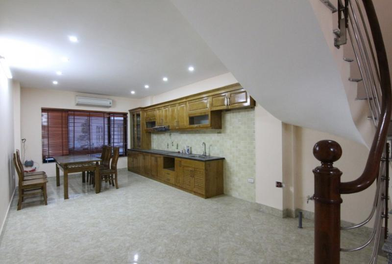 Furnished 4 bedroom house rental in Ngoc Thuy Long Bien, Car access