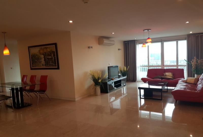 Furnished 4bed apartment Ciputra Hanoi to rent at P tower