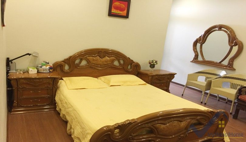 Furnished apartment for rent in Trang An Complex spacious balcony