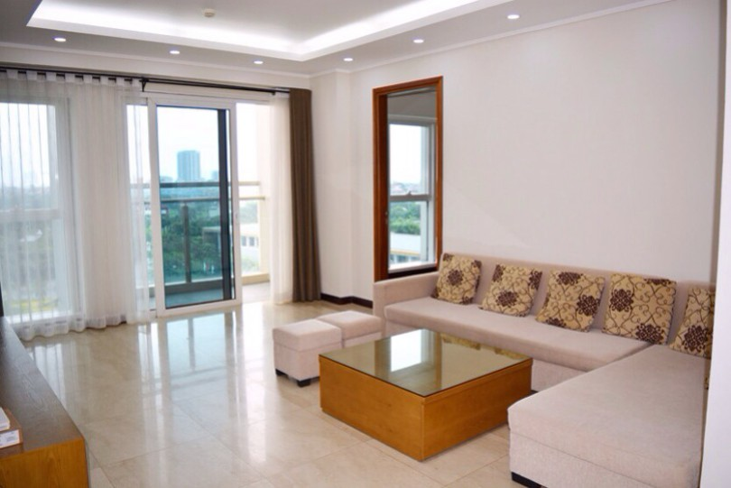 Furnished apartment in Ciputra Hanoi with 3 bedrooms at L tower
