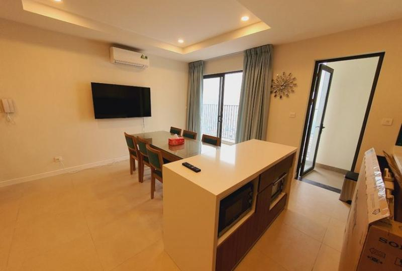 Furnished apartment in Kosmo Tay Ho to rent 03 bedrooms
