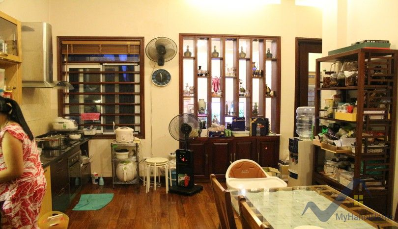 Furnished house for rent in Tay Ho near Ciputra Hanoi