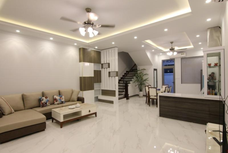 Furnished house to rent in Nguyet Que Harmony 4 bedrooms