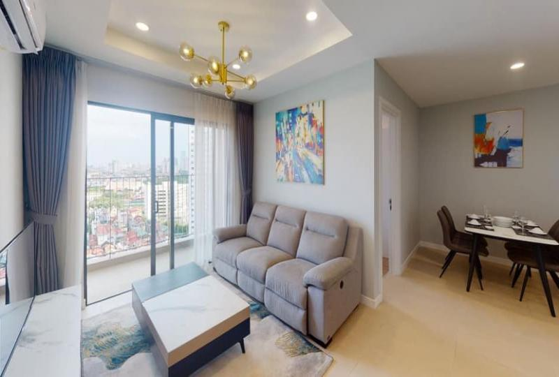 Furnished Kosmo Tay Ho apartment with 2 bedrooms