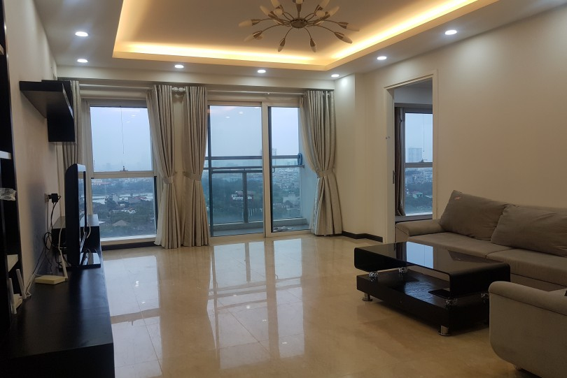 Furnished L2 Ciputra Hanoi apartment for rent 3 bedroom 2 bathroom