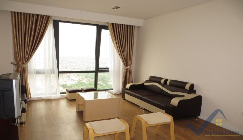 Furnished Mipec Riverside apartment for rent 02 bedrooms river view