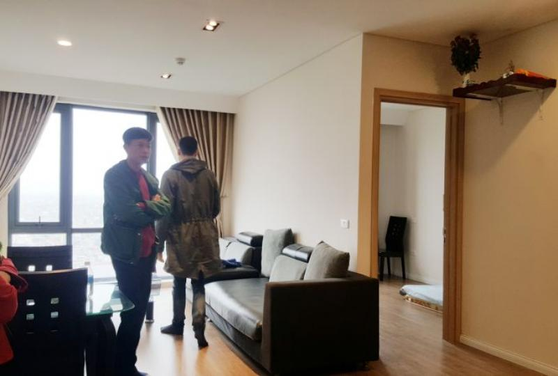 Furnished Mipec Riverside apartment to rent, 2 bedrooms