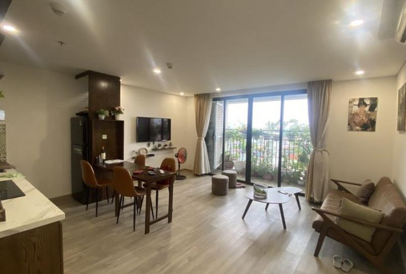 Furnished One bedroom apartment D Le Roi Soleil Tay Ho for rent