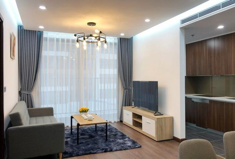 Furnished One bedroom apartment in 6 Element Tay Ho to rent