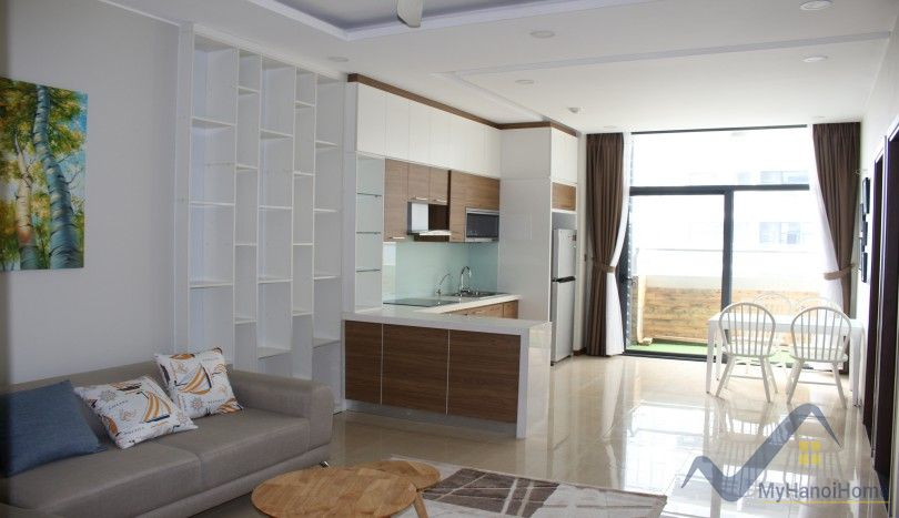 Furnished Trang An Complex apartment rental 2 beds, 1 single bed