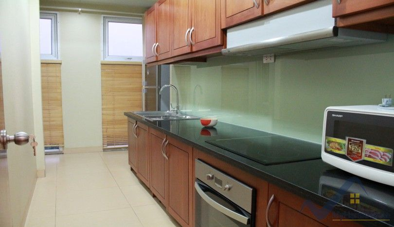 Furnished two bedroom apartment in Tay Ho on Quang Khanh street