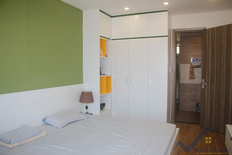 Furnished two bedroom apartment rental in Berriver Hanoi