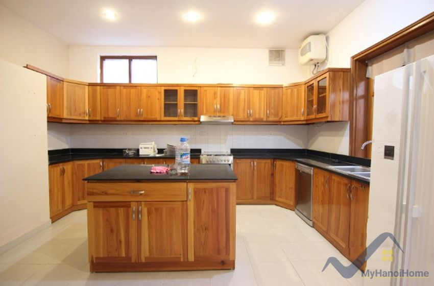 Garden and terraced house on To Ngoc Van for rent