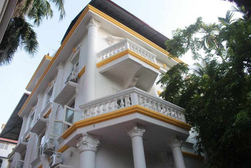 Garden house to rent in To Ngoc Van str, Tay Ho Westlake