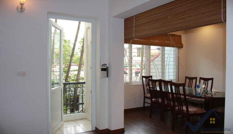 Garden Tay Ho house rental furnished with 3 bedrooms