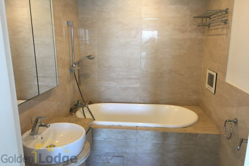 Golden Westlake Hanoi apartment to rent 02 beds furnished