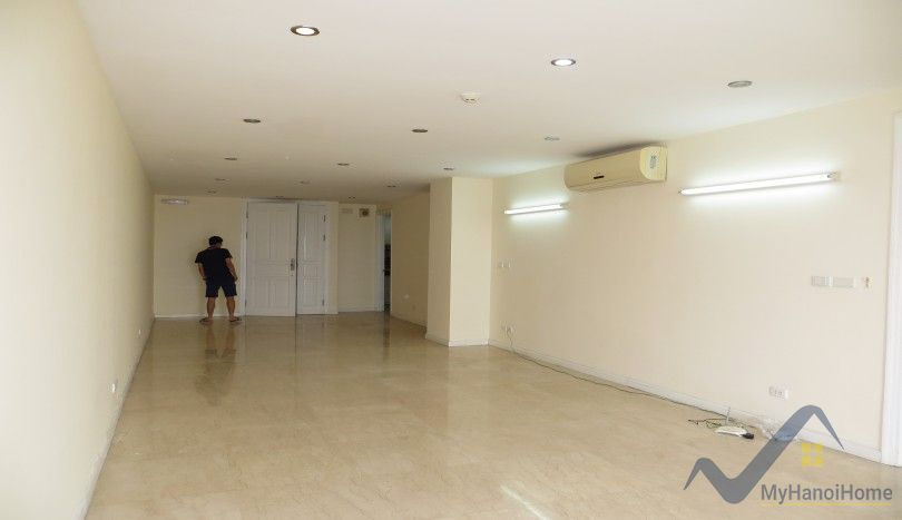 Golf view unfurnished apartment at P tower in Ciputra Hanoi rent