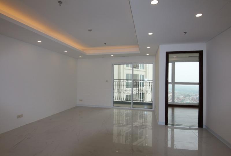 Hanoi Aqua Central 3 bedroom apartment for rent unfurnished River view