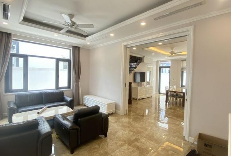Cho thuê biệt thự Vinhomes Harmony full nội thất gần Vinschool