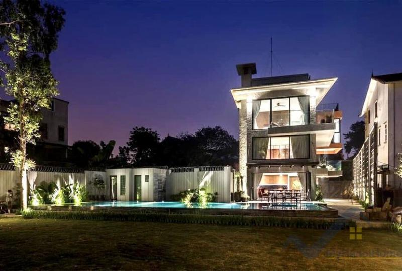 House in Long Bien for rent with furnished, 4 bedrooms