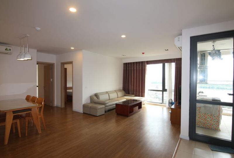 Căn hộ Mipec Riverside cho thuê 3PN full nội thất