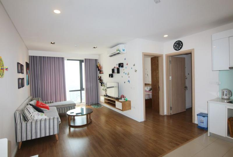 Mipec Riverside 2 bedroom apartment rental with fully furnished
