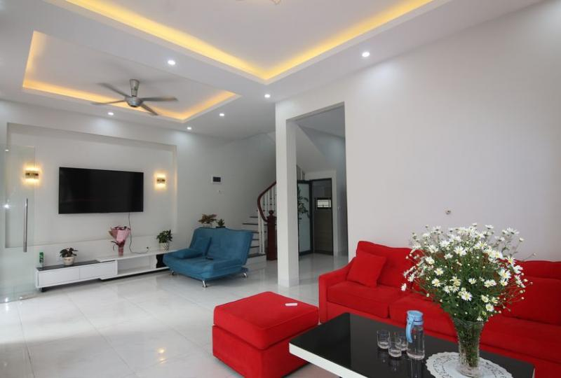 Furnished house in Long Bien 4 bedrooms near French school