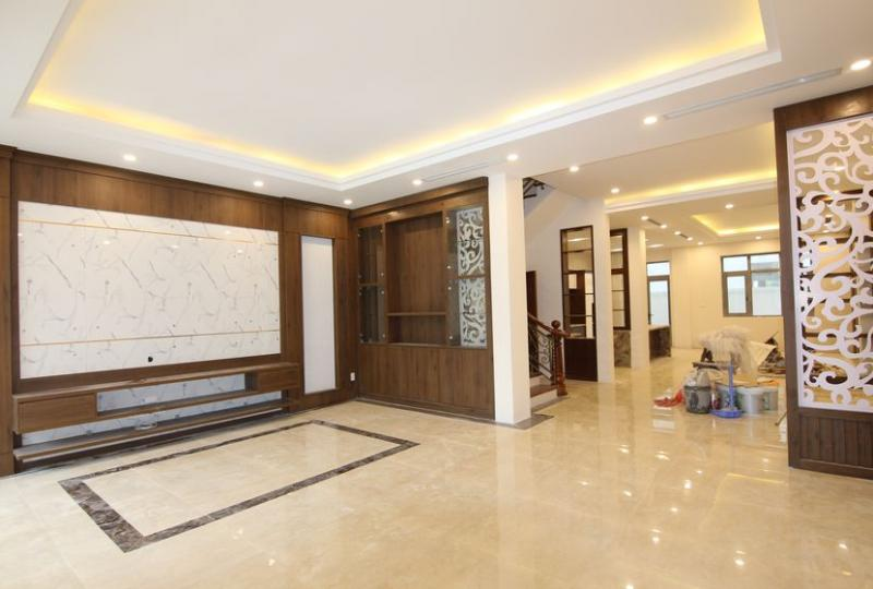 Unfurnished house for rent in Vinhomes The Harmony 5 bedrooms