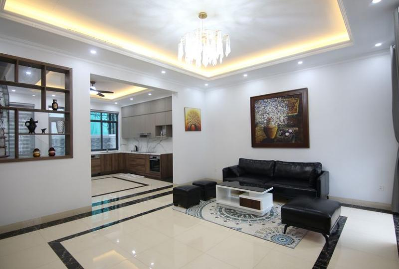 Rent furnished Vinhomes Harmony house with 3 bedrooms
