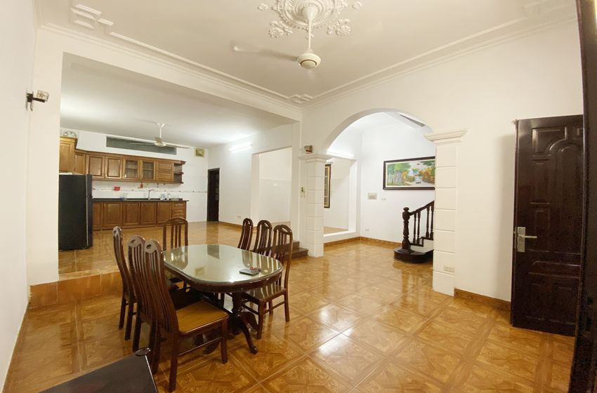 Lake view terrace 5 house for rent in Tay Ho
