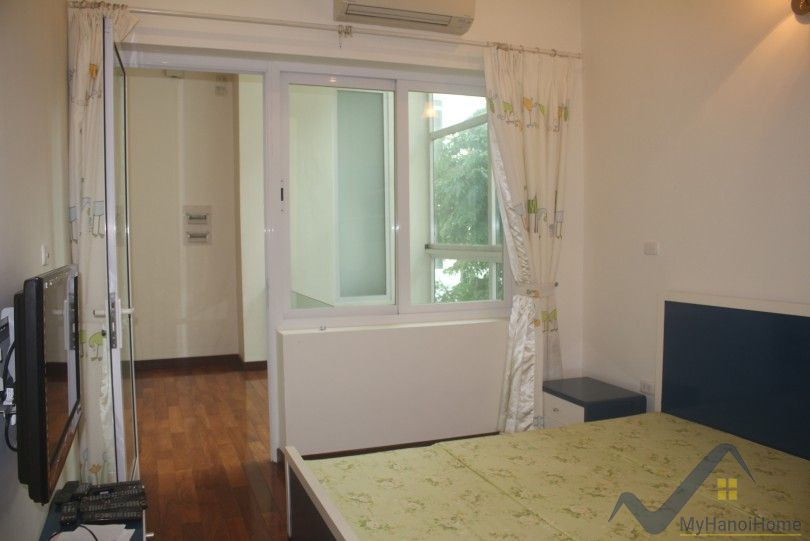 Large terraced house in Tay Ho Westlake for rent with furnished